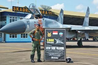 LUAR BIASA, Tak Banyak Yang Tahu Putera Asli Garut Ini Pimpin Skadron Jet Tempur Sukhoi TNI AU