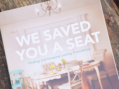 We Saved You a Seat {Tips for Starting a Bible Study with Friends + A Review} #Dayspring #incourage