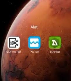 Cara mengubah karakter gta sa di Android