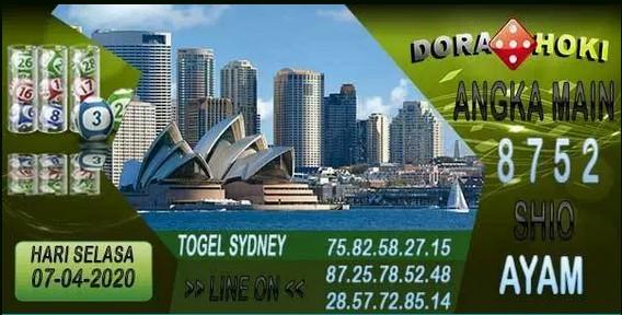 Prediksi Togel Sidney Selasa 07 April 2020 - Prediksi Dora Hoki