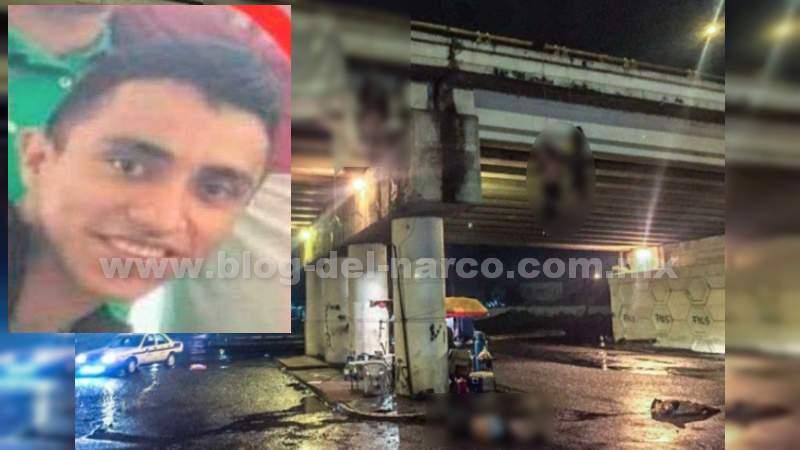 """Luis Felipe Barragán Ayala,""""El Vocho"""" jefe de plaza de los Viagras detenido ayer, levanto, torturo, ejecutó y colgó de un puente a 19 personas todas inocentes para echarle la culpa al CJNG"""