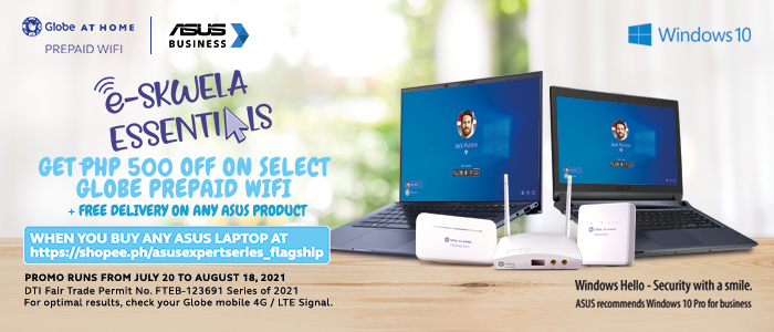 """ASUS Business teams up with Globe at Home for the new """"E-Skwela Essentials"""""""