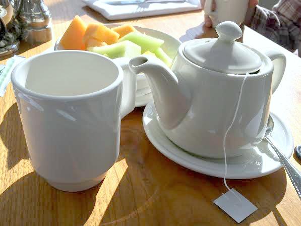 Tea at Hotel Murano
