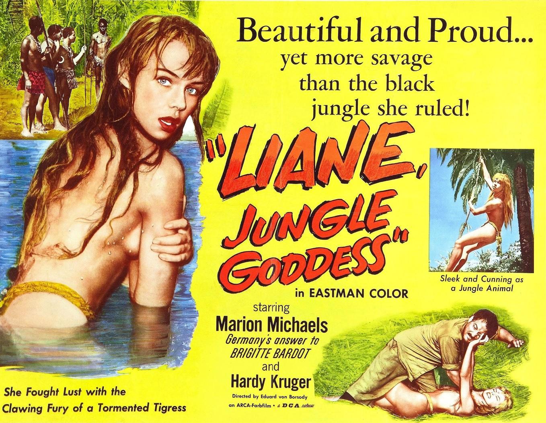 Ver película Liane, la diosa de la jungla Online