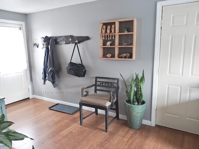 Functional cozy minimalist entryway updates