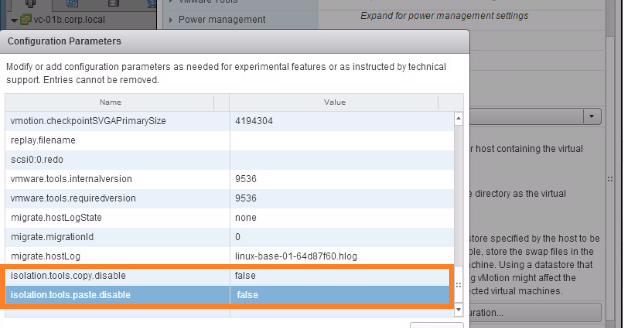 Virtualization The Future: Enable the Copy and Paste in VMRC