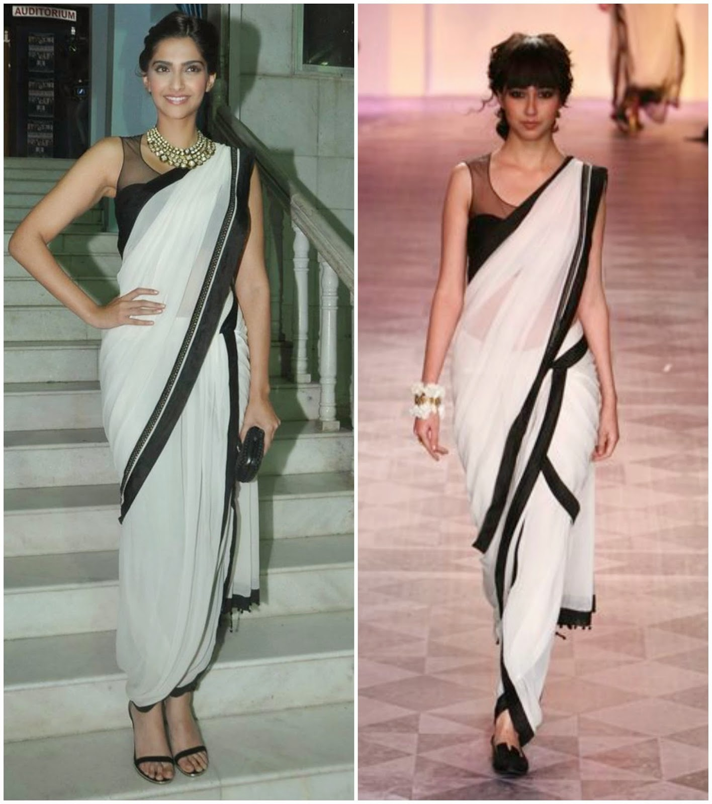 Poise Passion: How To Wear Saree In Dhoti Style, Indo