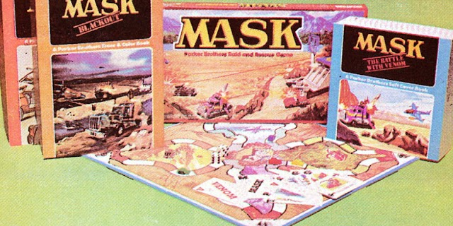 1985 Promo Comic Reveals A Treasure Of M.A.S.K. Merchandise
