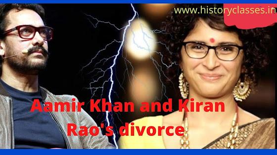 Aamir Khan and Kiran Rao's divorce