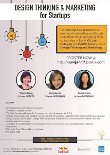 Source: Startup Asia Women. Poster for the inaugural networking event.