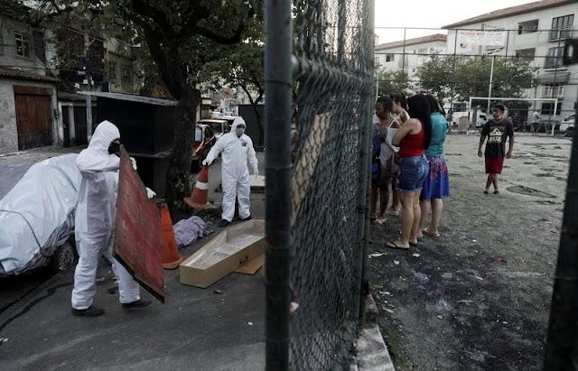 Brasil supera 16 mil mortes por Covid-19, diz Ministério