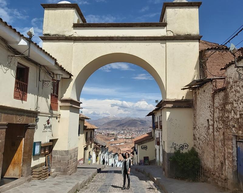 Arco de Santa Ana, Cusco