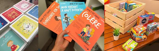 livres et jeux pour les enfants