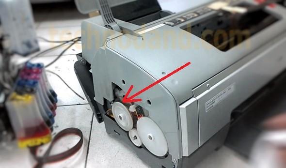Printer Epson 1390 Kertas Keluar Tersendat- sendat Paper jam