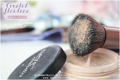 Crystal flat foundation NeveCosmetics Crystal Flawless Brushes