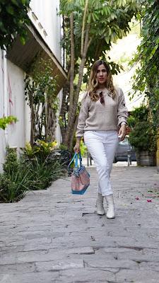 como llevar botas blancas