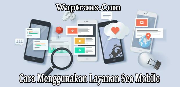 Layanan Seo Mobile