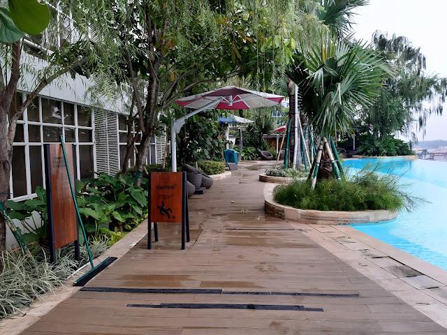 fasilitas fika room kolam renang
