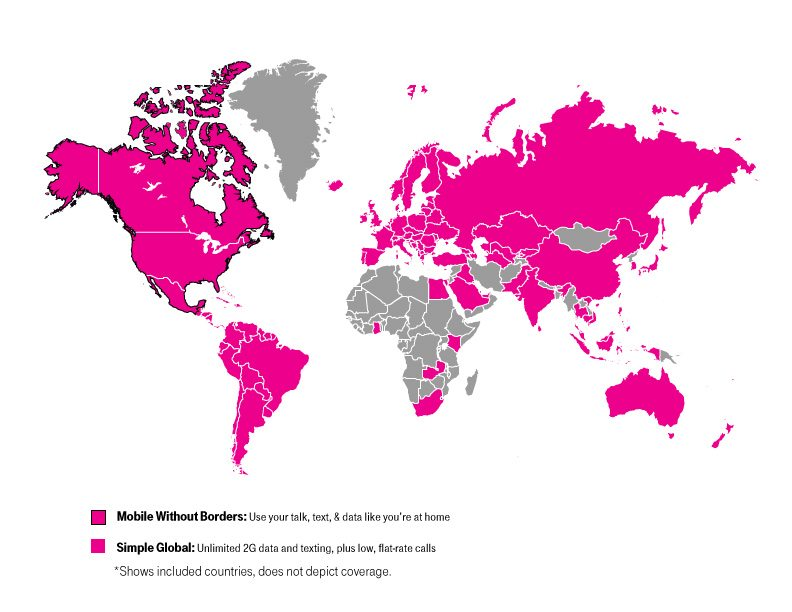 T-Mobile Free International Roaming is a Scam