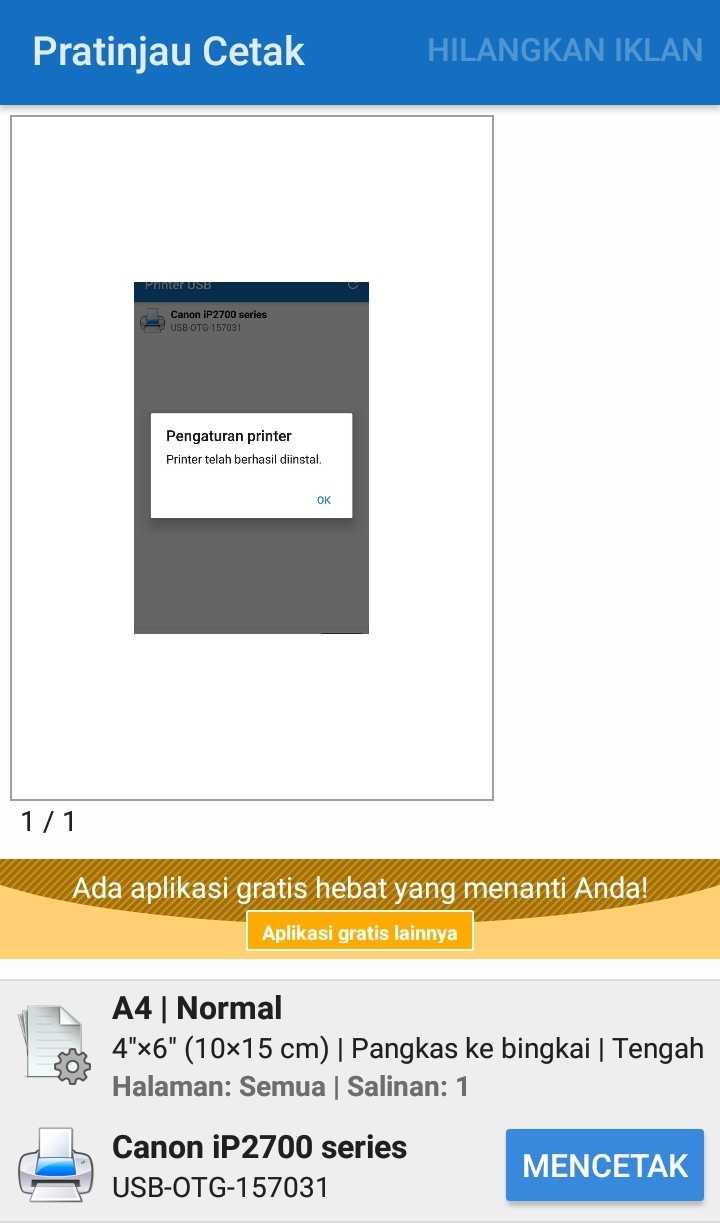 Cara Print Dari HP Android ke Printer Canon IP2770 Dengan ...
