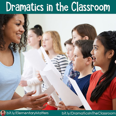Dramatics in the Classroom: There are many reasons to use dramatics in the classroom, and many ways to use it. This blog post explains HOW and WHY to use dramatics in the classroom!