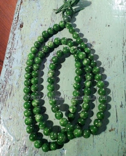 Tasbih Batu Giok Jadite Jade - ZP 1064