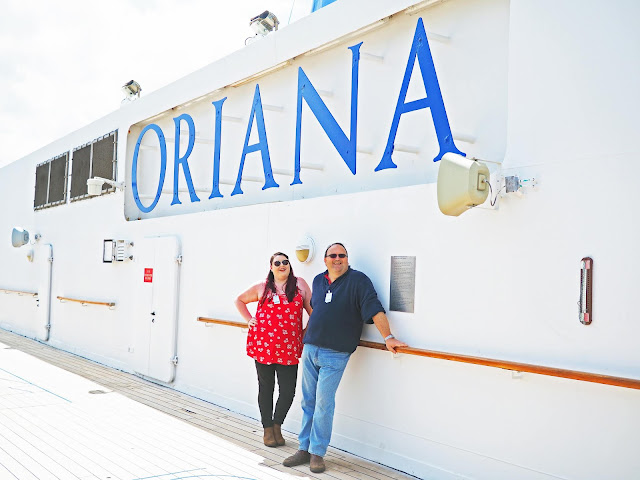 bristol plus size travel cruise influencer P&O Oriana