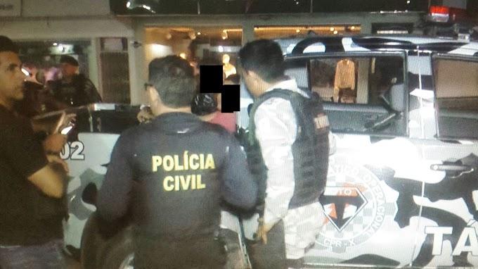 ITAITUBA: POLICIAS CIVIL E GTO PRENDEM DOIS SUSPEITOS DE COMETEREM ASSALTOS NA CIDADE