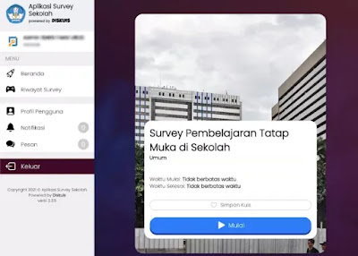 Cara Menggunakan Aplikasi Survey PTM Kemendikbud-2