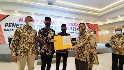KPU Tetapkan Aditya Halindra Faridzky - Riyadi Bupati dan Wabup Tuban Terpilih