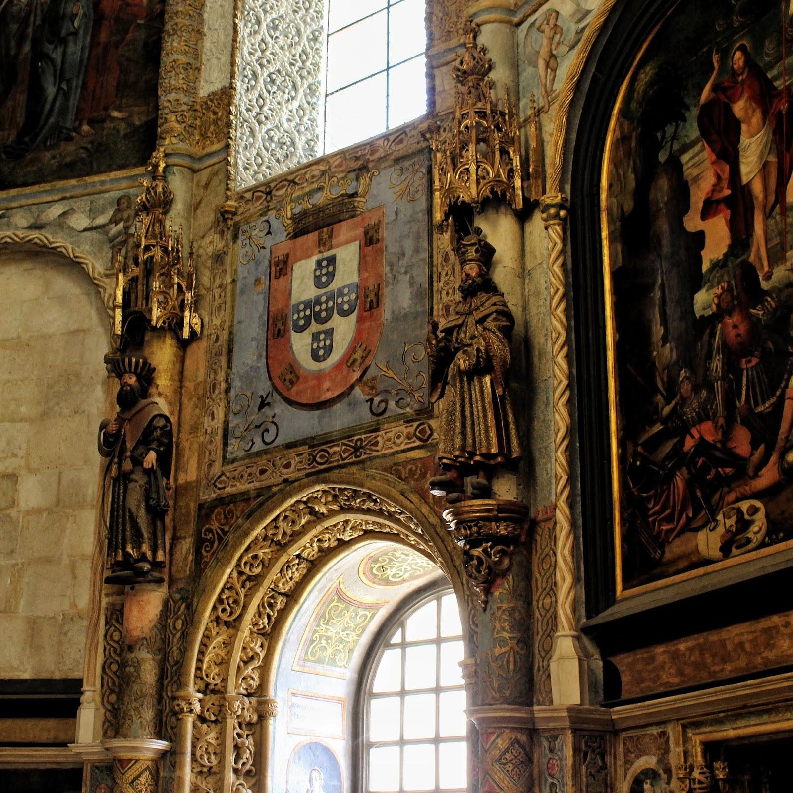 Interior do Convento de Cristo Tomar