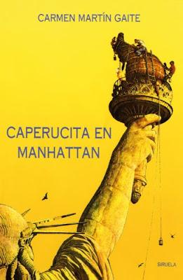 Caperucita en Manhattan libro tapa Carmen Martín Gaite