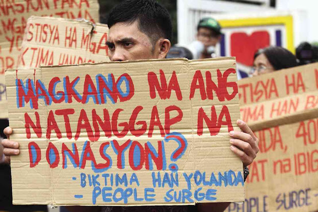 CARITAS questions timing of 'P24.7 billon Yolanda funds' release