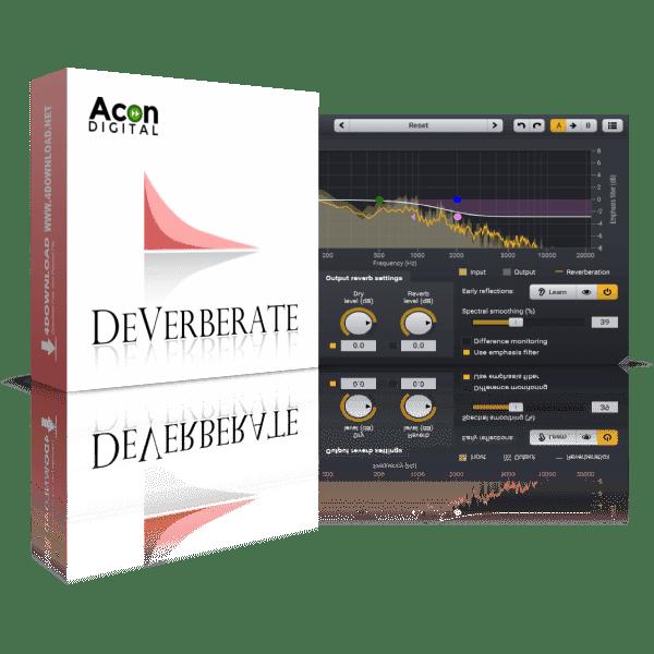 Acon Digital DeVerberate v2.1.2 Full version