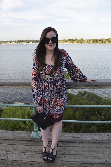 Sequins and Skulls: Paisley Print