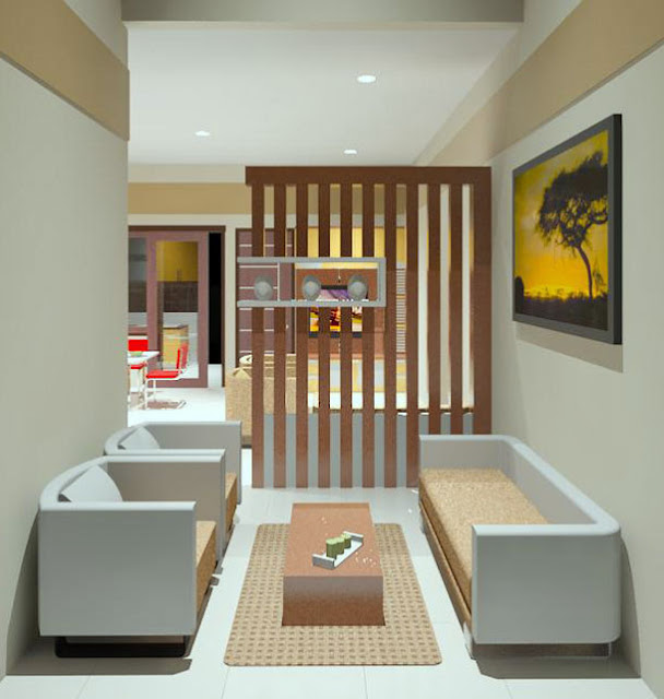 Desain Interior Rumah Minimalis Type 21