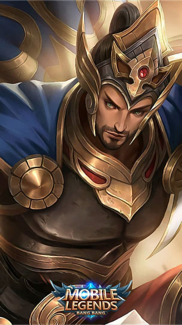 Wallpaper Minsitthar Gilded King Skin Mobile Legends HD for Android and iOS