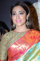 Shriya Saran Looks Stunning in Silk Saree at VRK Silk Showroom Launch Secundrabad ~  Exclusive 073.JPG