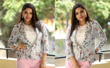 Kriti Garg At Rahu Movie Success Meet Event Photos