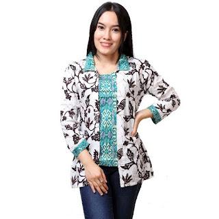Contoh Model Baju Batik Kantor