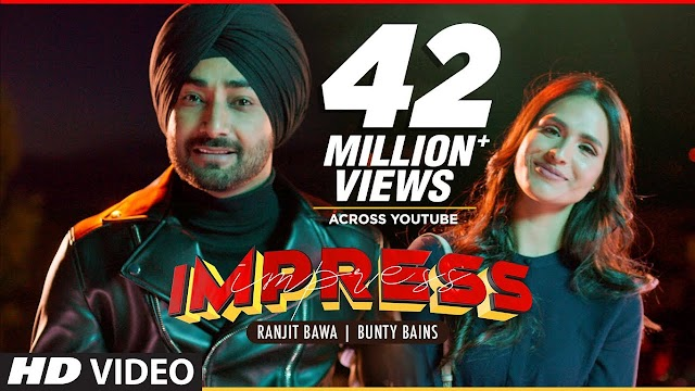 IMPRESS SONG BY RANJIT BAWA MUSIC BY DESI CREW MUSIC LABEL T-SERIES