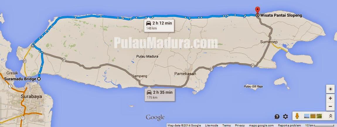 Wisata Pantai Slopeng Sumenep Madura