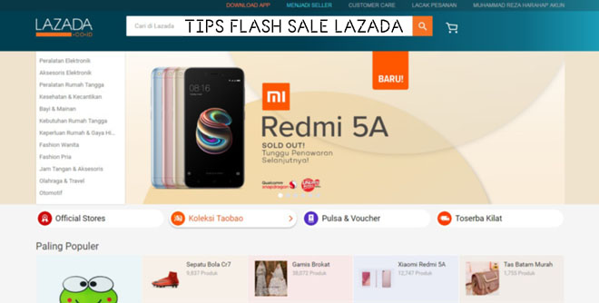 Tips Rahasia Cara Flash Sale Lazada