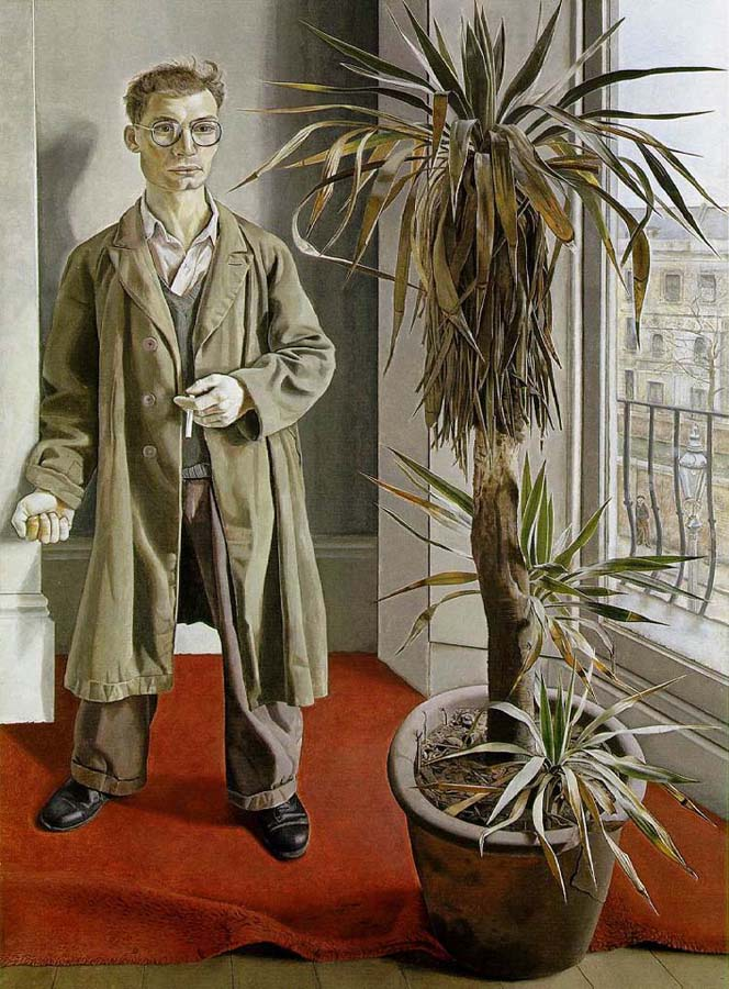 lucian freud, Interior in Paddington