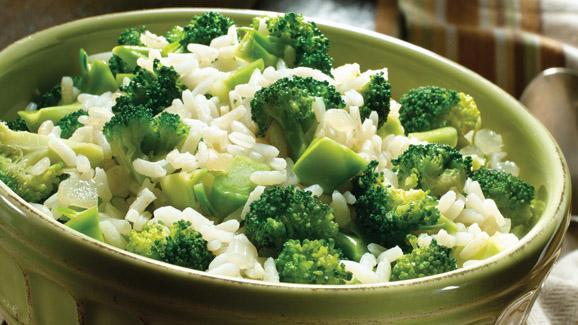 ارز بالبروكلي