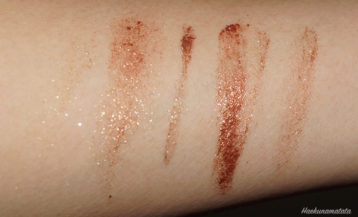 MAC Copperthorn fluidline eye liner gel review and swatches