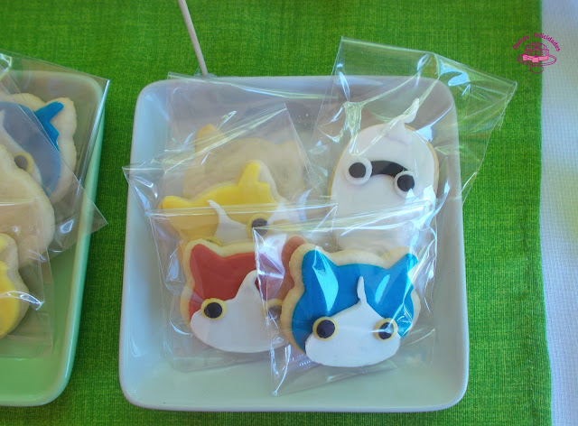 Galletas Yo-kai Watch fondant