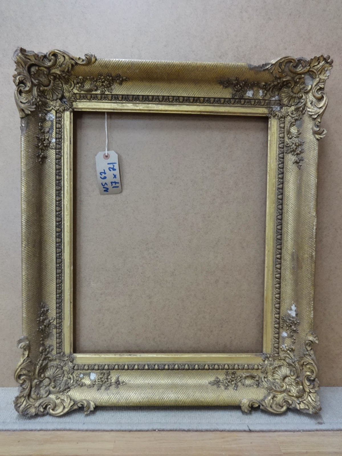 Antique Frame Sale: Victorian Frame with Ornate Rococo Corners