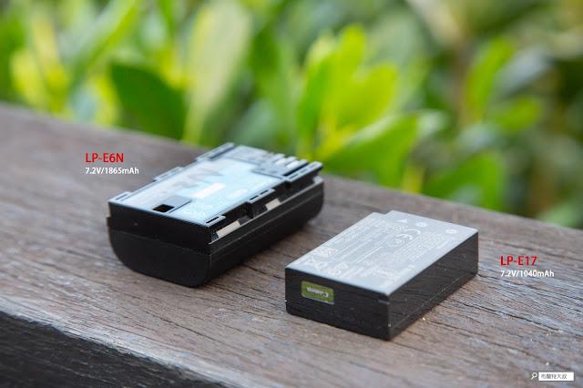 Canon EOS RP 使用心得 - 電池容量