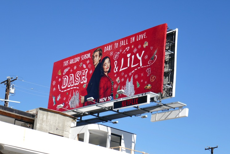 Dash Lily Netflix series billboard